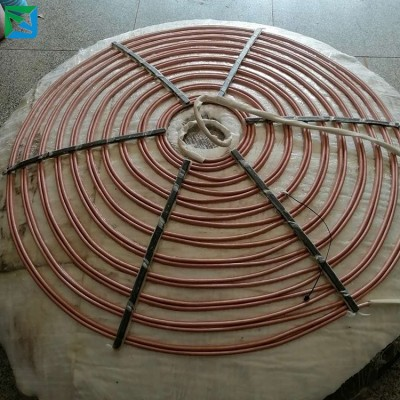 乐创智控电磁加热线盘安装 电磁控制器组装 电磁高频线盘