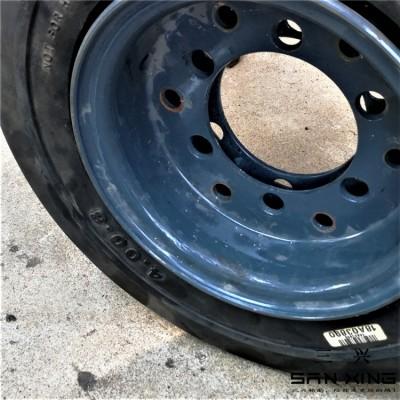 高含胶量实心轮胎 驱动车轮 车床加工 实心轮胎 全国发货