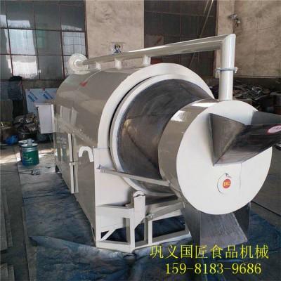 不锈钢电炒锅 电加热糖炒板栗机不锈钢炒货机 电磁加热滚筒炒锅