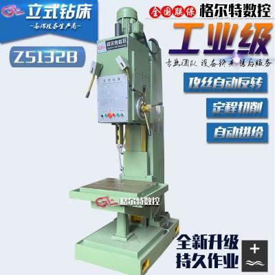 Z5132B立式钻床 自动钻孔定程切削Z5125小型台钻 保修3年