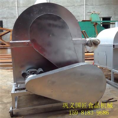 电加热炒料机价格 榨油大豆滚筒炒锅榨油大豆滚筒炒锅 油菜籽炒货机