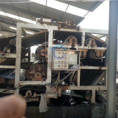 全自动 隔膜式污泥压滤机 带式压滤机