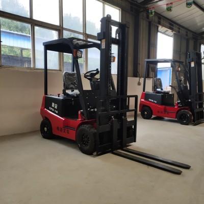 1吨2吨电动叉车 全电动堆高车升高叉车 站驾式电动叉车
