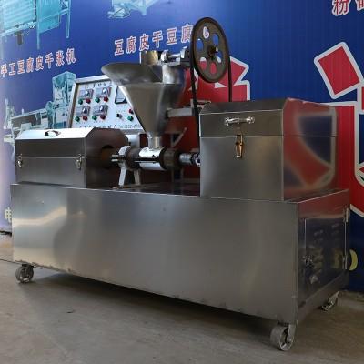 高产量牛排豆皮机 多功能豆制品加工设备 厂家直销新款素牛排机
