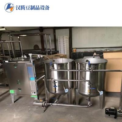 全自动豆腐生产线 大型豆腐生产机械 大型豆浆煮浆罐 豆腐成型机