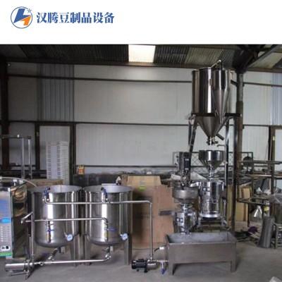 大型豆腐加工设备 豆腐两连磨 两连磨自动豆腐加工设备 自动吸豆两连磨机械