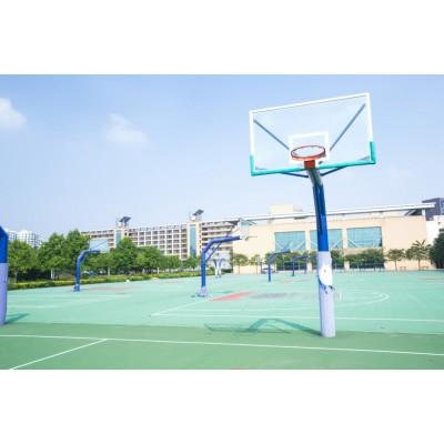 3mm丙烯酸網球場地膠籃球場地坪漆遠洋廠家直銷