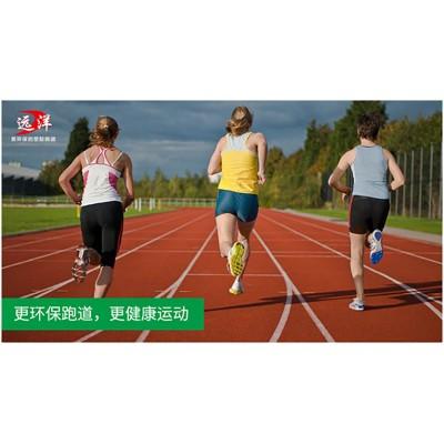 全塑型塑膠跑道13mm塑膠面層材料施工造價