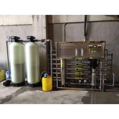 3吨单级反渗透设备   青州市水处理设备厂家