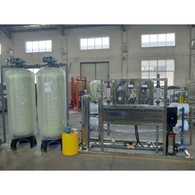 全自动单级反渗透设备  新源单级反渗透水处理设备