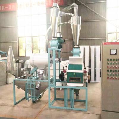 小麦玉米磨面机成套面粉机小型面粉机加工设备
