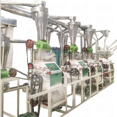新型玉米面粉機加工設備 小麥磨面機全自動打面機